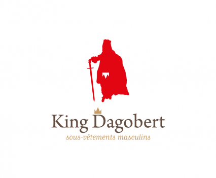 king dagobert - sous-vêtements royaux