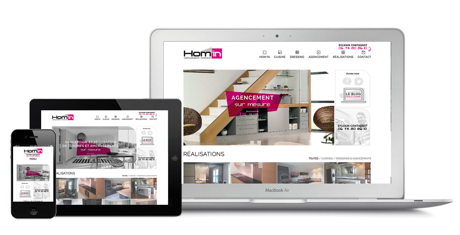 Homin-siteinternet-responsive Agence communication Orléans